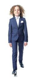 Alex Boys 2pc Suit -Navy/Blue