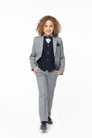 Daniel Boys 3pc Suit - Grey