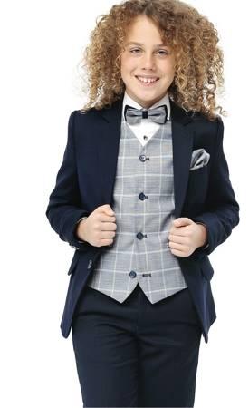 Franco Boys 3pc Suit - Navy